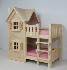 The Dollhouse Bunkbed by Imagine THAT! Playhouses & More...