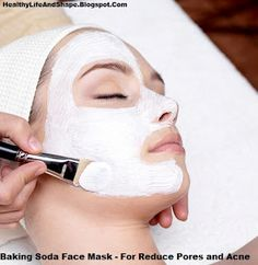 Baking Soda Face Mask - For Reduce Pores and Acne