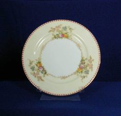 Meito Japan Pattern Marjorie White Bread & Butter Plate bfe2302 #Meito