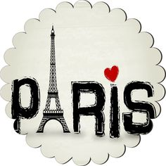 Rikki Knight Paris Words with Eiffel Tower and Red Heart Design Scallop Flower Scallop Shape Fridge Magnet >>> New and awesome product awaits you, Read it now  : Kitchen Utensils and Gadgets