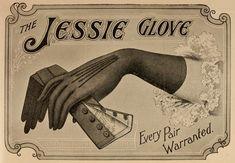 Glove advertisement, c. 1904