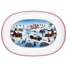 Collection Family 200 mm Villeroy & Boch NAIF CHRISTMAS Pickle Dish 7 3/4 in-01