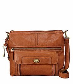 I just bought it!!!   Woohoo! Fossil Stanton Top Zip CrossBody Bag