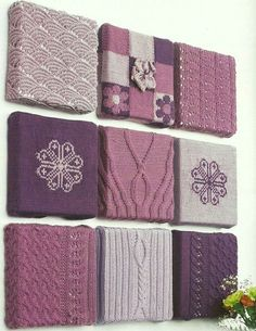 DIY – Knitting wall decor – gives a different look – Knitting patterns, knitting designs, knitting for beginners. Crochet Wall Art, Yarn Wall Art, Crochet Wall Hangings, Knit Art, Crochet Home, Hanging Wall Art, Diy Wall Art, Wall Decor, Art Yarn