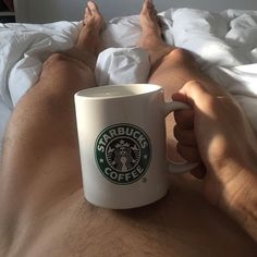 These 47 Pics of Hot Guys Drinking Coffee Will Inspire You to Get Out of Bed