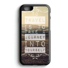 Travel Journey Quotes iPhone 7 Case