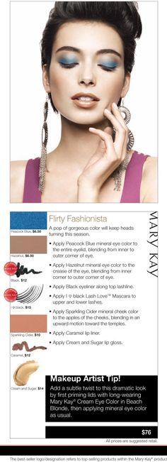 Flirty Fashionista www.marykay.com/tlete