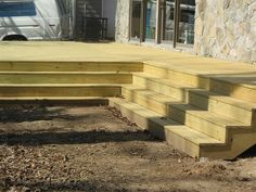 Framing The Top Step Of Double Box Steps With An Inside
