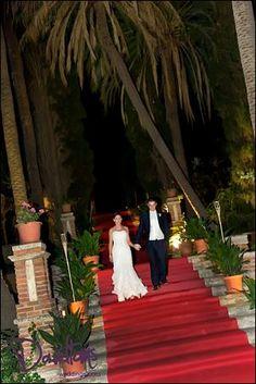 Hollywood wedding here in Spain