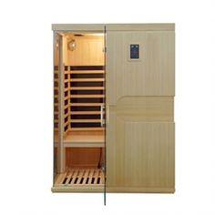 Infrarotkabine Montreal Größe 150 x 110 x 195cm Portable Sauna, Traditional Saunas, Steam Sauna, Sauna Room, Infrared Sauna, Montreal, Tall Cabinet Storage, Furniture, Home Decor