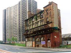 The Gorbals, Glasgow (Scotland, United Kingdom).