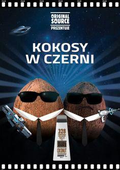 O czy mowa hmm o Original Source i zapachu Kokosa