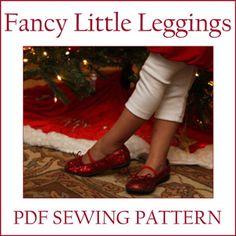 Fancy Little Leggings PDF sewing pattern