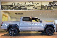 This 2017 Toyota Tacoma TRD Pro is ready to #RiseUp to any challenge.