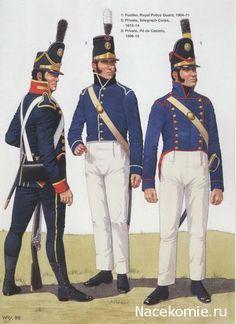 Fuciliere della gendarmeria, trasmettitore e fuciliere