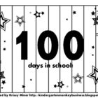 Here is another math puzzle perfect for the 100th day of school!  You can choose to have your students order numbers to 10, skip count by 2s or 10s...