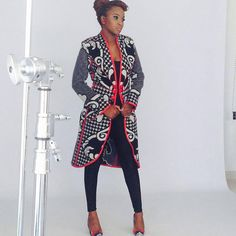 """"""" from - Basotho coat by , shoes by and earrings by make-up by African Attire, African Wear, African Dress, African Style, African Men Fashion, African Fashion Dresses, African Outfits, Ankara Fashion, African Print Clothing"""