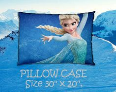 Custom pillow case - Frozen anna elsa kristoff olaf duke of weselton movie on Etsy, $18.99