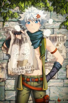 Killua Zoldyck Hunter x Hunter / #anime