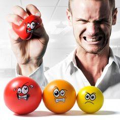 """Stressballen """"Agressie Management"""" Een cursus woede beheersing is niet meer nodig met deze anti-stressballen."""