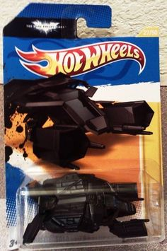 Hot Wheels 2012 HW PREMIERE ~ THE BAT ~ The Dark Night Rises ~ 27/50 by Mattel, Inc.. $5.99. This 2012 HW Premiere THE BAT vehicle is the international version of the 2012 New Models THE BAT vehicle. Of the main line Hot Wheels released in 2012, there are 50 New Models, 10 series of 10 cars, 15 Treasure Hunts, 15 Track Stars, 45 Thrill Racers and 22 Code Cars, totaling 247 cars.