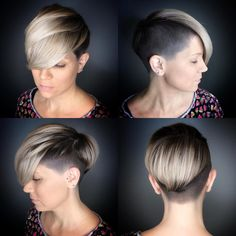 Best Short Pixie and Bob Hairstyles 2019 - Pixie and Bob Haircuts for Women - - Short Hairstyles - Hairstyles 2019 Pixie Cut, Short Pixie, Short Hair Cuts, Short Hair Styles, Stacked Bob Hairstyles, Pixie Hairstyles, Straight Hairstyles, School Hairstyles, Prom Hairstyles
