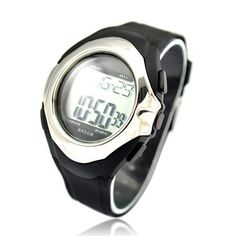 Bathroom Organization: Motion Plus Heart Rate Monitor Watch Silver >>> Learn more by visiting the image link. Fitness Watch, Heart Rate Monitor, How To Stay Healthy, Watches, Silver, Bathroom Organization, Shopping, Image Link, Sporty