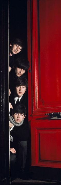 The Beatles, London, 1964, by Jean-Marie Perier.