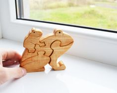Waldorf Animal toys - montessori wood toys - Wooden Puzzle - Educational toys - Puzzle Toy - Kids gifts Wooden animals forest animal toys ---------------------------------------------------------------------------------------------------- Made to order ---------------------------------------------------------------------------------------------------- Wooden thee and snimals - is a great educational and role-playing games. You may well spend time together with your child. It will be a…