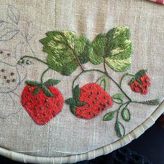 Mantel con fresas