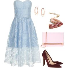 Wedding Guest 3 by smlomas on Polyvore featuring Chi Chi, Gianvito Rossi, Ted Baker and Bling Jewelry