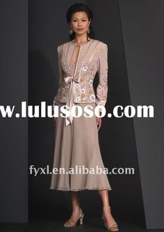 Mother Of The Bride Designer Dresses 2012 | Long Sleeve Vintage Mother of the Bride Dresses 2012