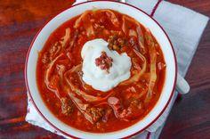 Crockpot Cabbage Roll Soup!