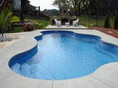 Caribbean 25a ~ Viking Pools ~ Free Form ~ Clearwater Fiberglass Pools ~ Louisville, KY by Viking Pools, via Flickr