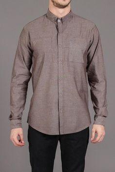 Arsnl Renegade 2 Pocket B Grey Chambray Shirt
