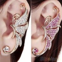 Only 1 pc ear clip and only for left ear, not for right ear Also a nice gift to your friends, sister