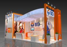 Exhibition Stall Design, Exhibition Display, Exhibition Stands, Marketing Virtual, Exibition Design, Pharmacy Design, Memphis Design, Small Buildings, Modular Design