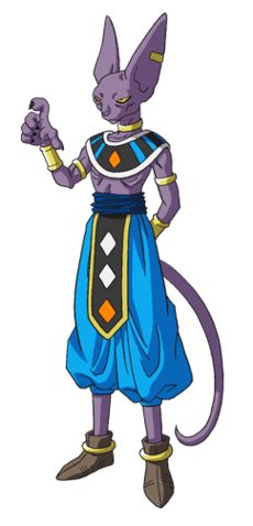 Beerus - Dragon Ball Wiki. I like cats. cats are COOL (that is what the 11th doctor says about Bow Ties, Stetsons, and Fezzes)