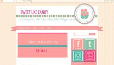 Sweet Like Candy Free blogger template - http://btemplates.com/10368