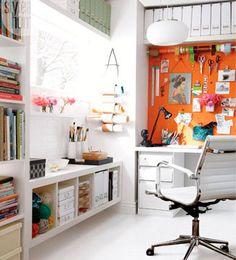 Creative workspace home office office art, home office space, home office design, house Home Office Space, Office Workspace, Home Office Design, Home Office Decor, House Design, Home Decor, Office Ideas, Office Art, Artist Workspace