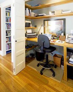 Текстильные фантазии и не только: Домашний офис (как устроить в квартире)