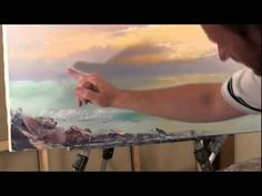БЕСПЛАТНО Полный Видеоурок Закат на море Сахаров - YouTube