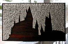 """Harry Potter String Art 
