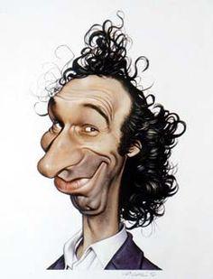 Roberto Benigni caricature