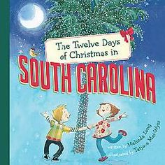 @Overstock - Laura writes a letter home each of the twelve days she spends exploring South Carolina at Christmastime, as her cousin Conner shows her everything from a wren in a palmetto tree to twelve kudzu vines. Includes facts about South Carolina.http://www.overstock.com/Books-Movies-Music-Games/The-Twelve-Days-of-Christmas-in-South-Carolina-Book/4735272/product.html?CID=214117 $10.02