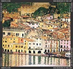 Malcesine on Lake Garda, 1913 by Gustav Klimt - Google-Suche