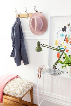 El recibidor perfecto para tu casa - Home Staging : via La Garbatella