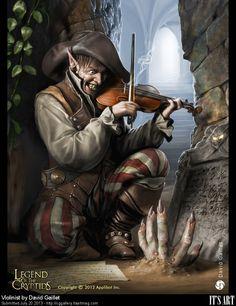 CG GAllery - Violinist by DavidGaillet