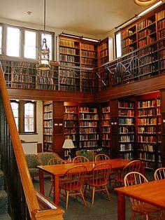 Reed College Library, Thesis Tower (Mr. Evan's/Elisa's work)