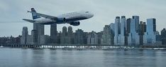 """Seven years after 9/11, the world witnessed the """"Miracle on the Hudson"""" when Captain """"Sully"""" Sullenberger glided his disabled plane onto the frigid waters of the Hudson River, saving the lives of all 155 aboard. However, as Sully was being honored by the public and the media for his unprecedented feat of aviation skill, an investigation was unfolding that threatened to destroy his reputation and his career. Best New Movies, All Movies, Sully, Village Roadshow Pictures, Travel Around The World, Around The Worlds, Incredible Film, Coming To Theaters, Inspirational Movies"""